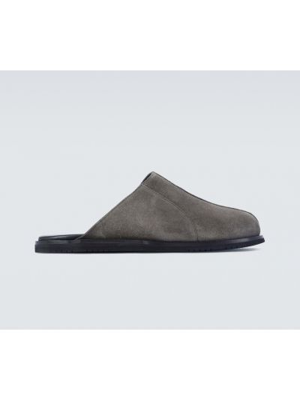 Czarne loafers zamszowe vintage A-cold-wall*