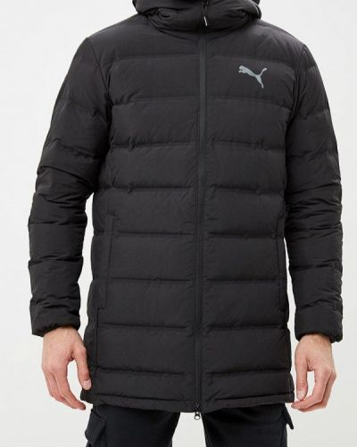 Зимняя куртка черная осенняя Puma