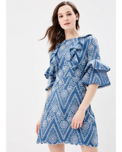 Голубое платье весеннее River Island