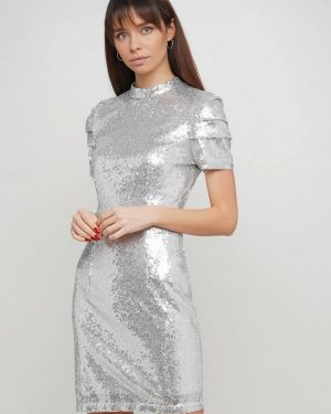 Серебряное вечернее платье Numero 28