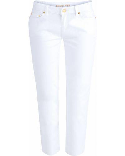 Прямые джинсы укороченные с карманами Michael Michael Kors