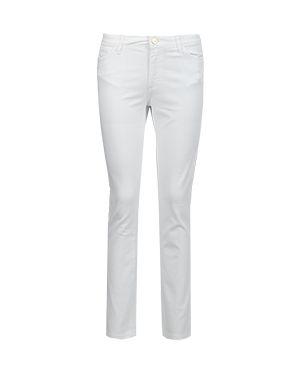 Зауженные джинсы - белые Blugirl