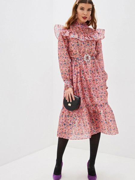Платье прямое розовое Sister Jane