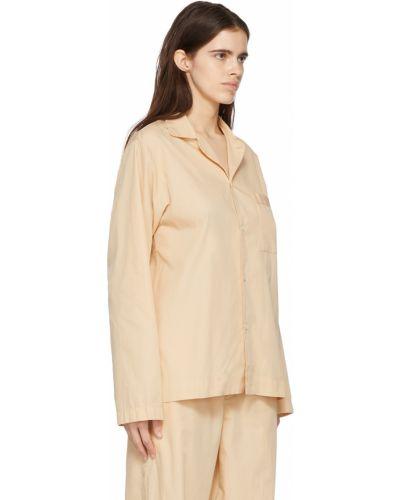 Koszula z długimi rękawami - beżowa Tekla
