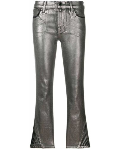 Укороченные брюки зауженные хлопковые J Brand