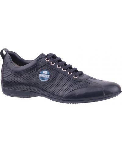 Синие кроссовки Baldinini