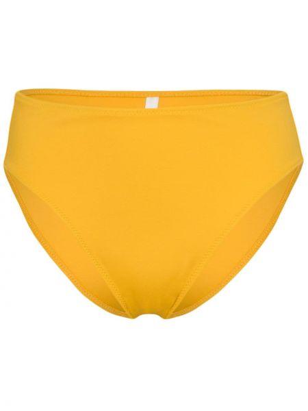 Желтые бикини с высокой посадкой без застежки Araks