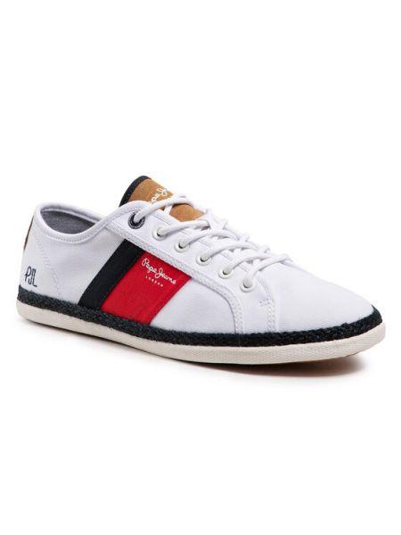 Espadryle - białe Pepe Jeans