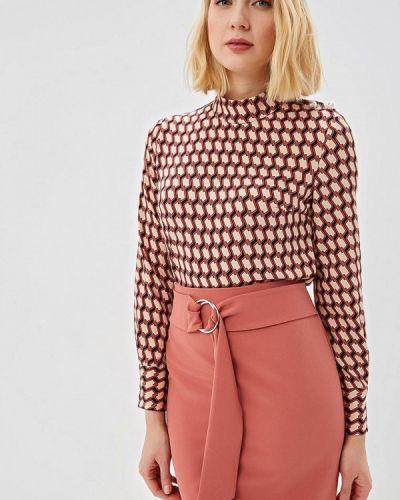 Блузка с длинным рукавом розовая весенний Zarina