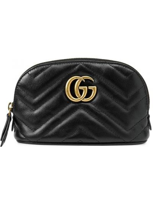 Złota torebka - czarna Gucci