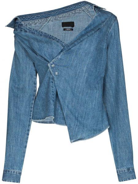 Niebieska klasyczna koszula Rta