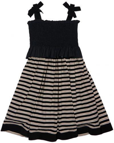 С ремешком трикотажное платье на бретелях Mi.mi.sol.