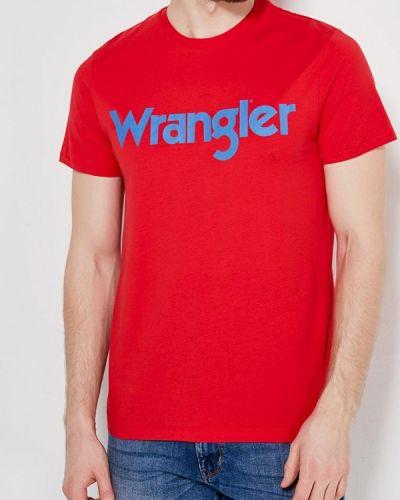 Красная футболка Wrangler