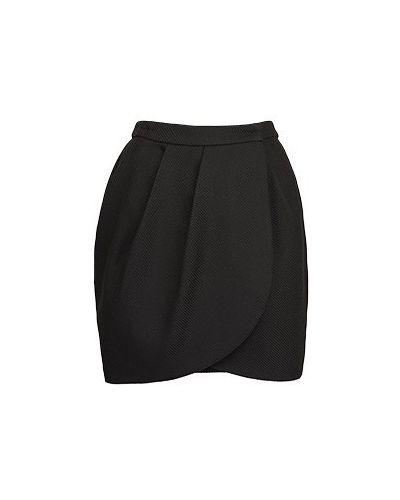 Юбка мини - черная Essentiel