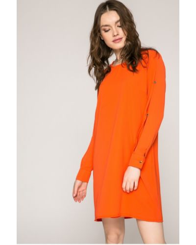 Платье мини на пуговицах прямое Answear