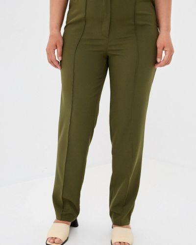 Зауженные брюки хаки Prewoman