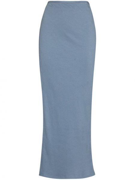 Niebieska spódnica bawełniana Baserange