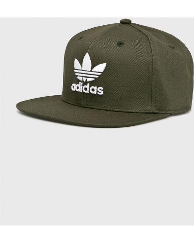 Шапка хлопковая зеленый Adidas Originals