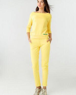 Костюмный желтый костюм Ora