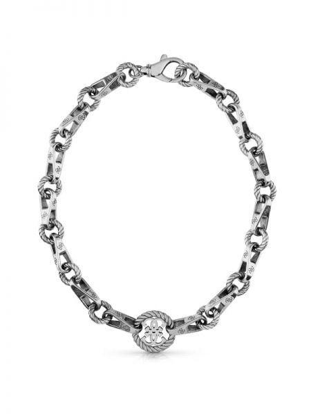 Naszyjnik łańcuch srebrny Guess
