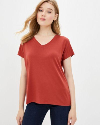 Красная футболка с короткими рукавами Mavi