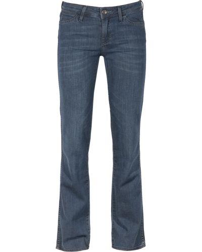 Прямые джинсы - голубые Wrangler
