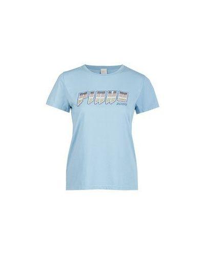 Голубая футболка Pinko