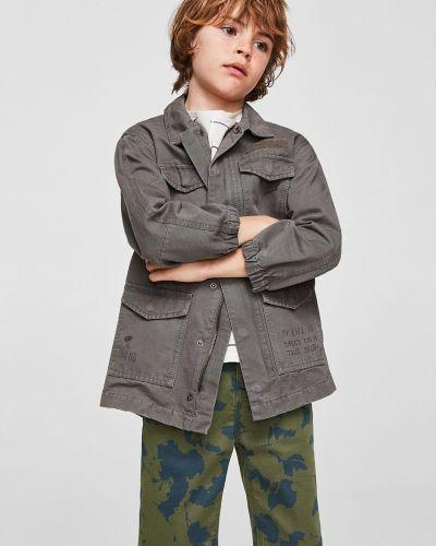 Коричневые шорты Mango Kids