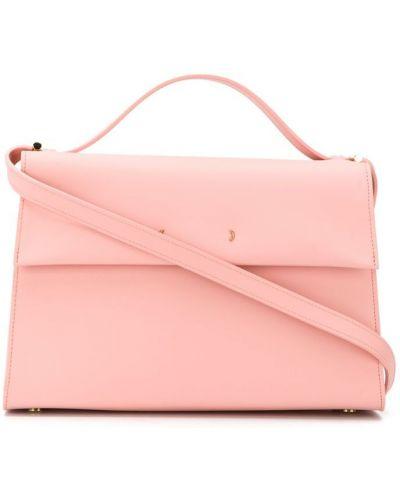 Розовая сумка на плечо круглая Pb 0110