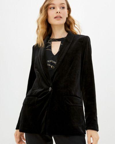 Черный зимний пиджак Q/s Designed By