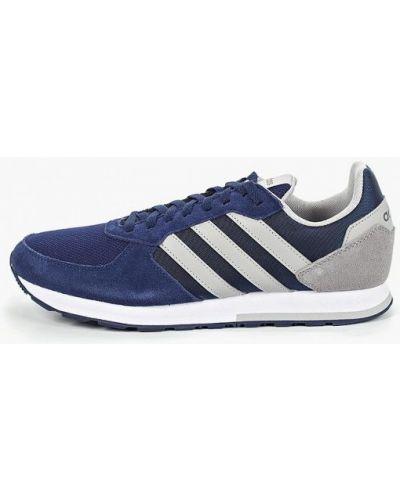 Кроссовки замшевые синий Adidas