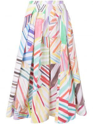 Плиссированная юбка - белая Rosie Assoulin