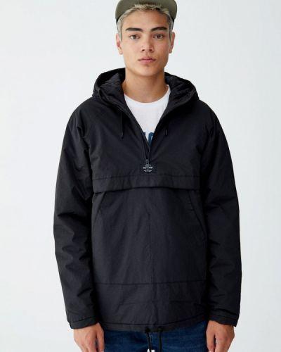 Зимняя куртка осенняя черный Pull&bear