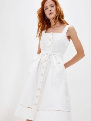 Белое турецкое платье Lusio