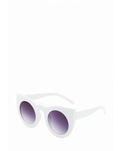 Белые солнцезащитные очки Pretty Mania