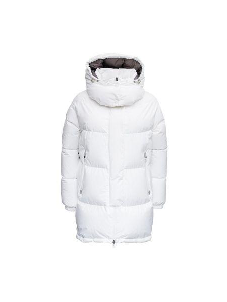 Biała kurtka Herno