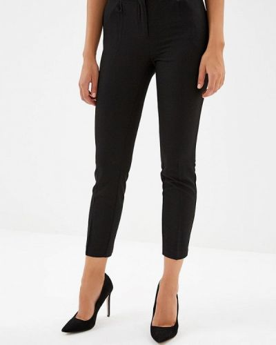 Черные брюки повседневные Love Republic