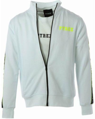 Biała bluza dresowa Pyrex