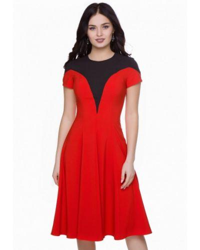 Красное коктейльное платье Grey Cat