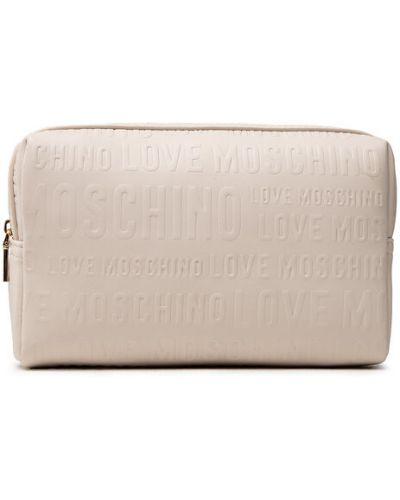 Kosmetyczka - biała Love Moschino