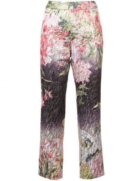 Укороченные брюки с поясом Josie Natori