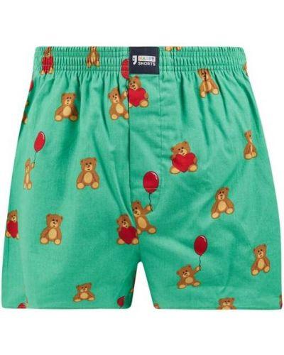 Zielone majtki szorty bawełniane Happy Shorts