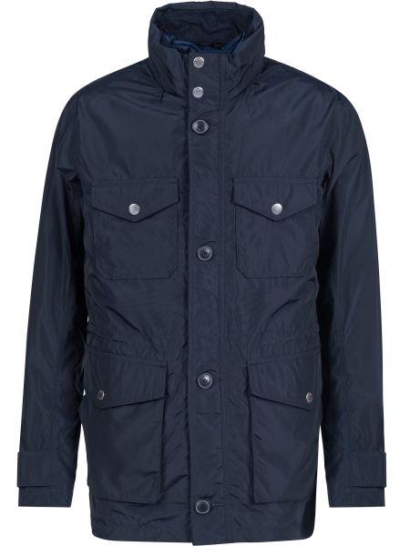 Куртка на пуговицах - синяя Armani Exchange
