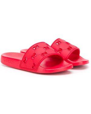 Шлепанцы для обуви с логотипом Gucci Kids