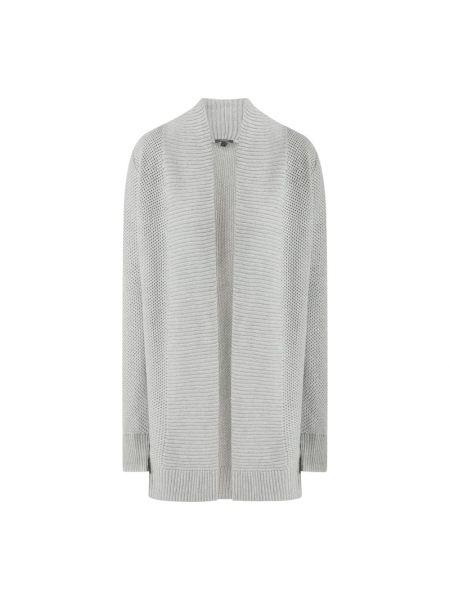 Sweter srebrny Montego