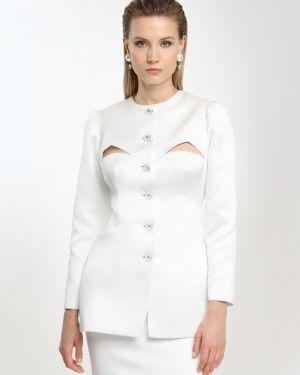 Biała kurtka Sandra Mansour