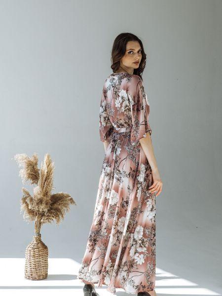 Бежевое платье Vovk