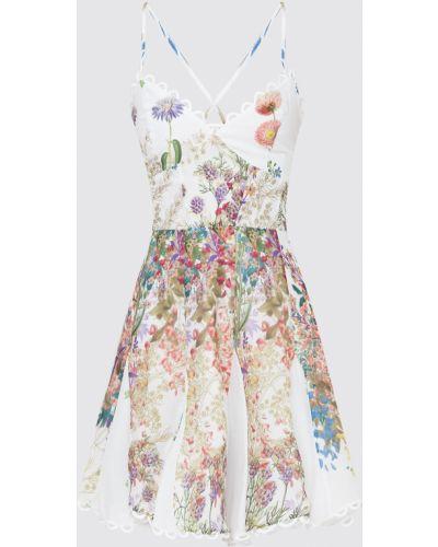 Белое платье миди Charo Ruiz