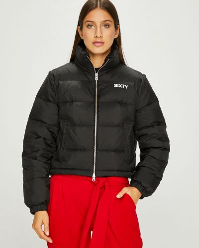 Стеганая куртка с карманами утепленная Miss Sixty