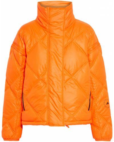 Стеганая куртка - оранжевая Adidas By Stella Mccartney